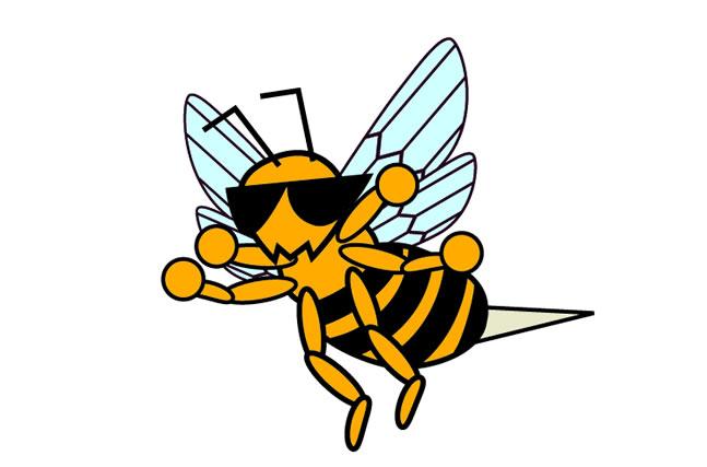 蜂に刺された時の対処