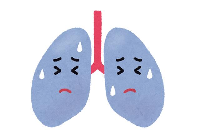 背中 が 痛い 肺炎